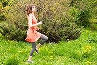 Упражнения для похудения: бег на месте