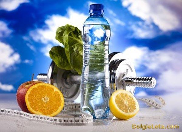 Атрибуты здорового Образа Жизни - Спорт, правильное питание