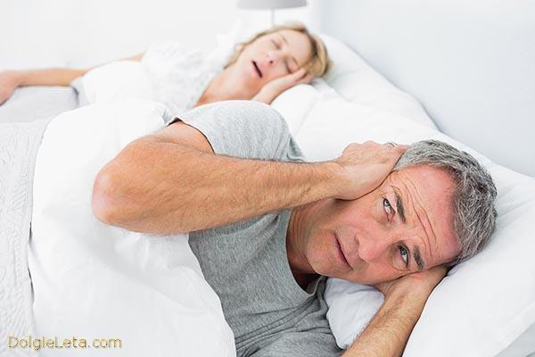 женщина храпит во сне - мужчине не заснуть