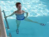Комплекс эффективных упражнений в бассейне