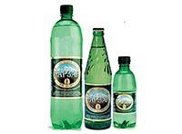 Минеральная вода Нарзан в бутылках различной емкости