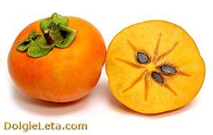 Хурма - полезные свойства ягоды