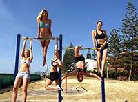 Женский воркаут для начинающих: программа тренировок.