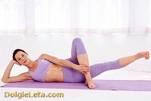 Гимнастика - упражнения для начинающих.
