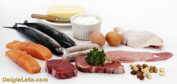 список белковых продуктов для похудения дюкана