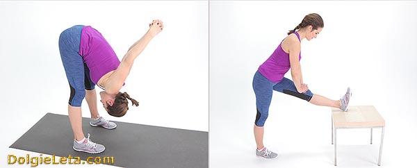 Тренировка на растяжку - комплекс упражнений.