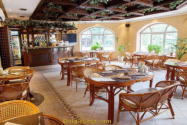 Кафе и рестораны в фитнес-клубе.