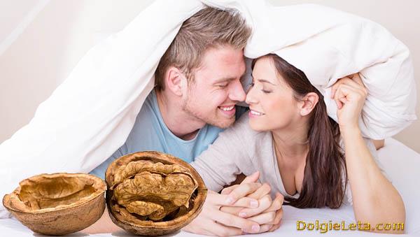 Грецкие орехи: польза для мужчин.