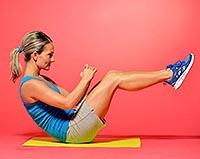 Калланетика упражнения для похудения для начинающих.