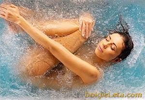 Показания и противопоказания  процедуры жемчужная ванна.