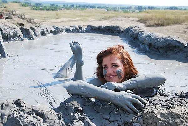 Состав лечебной грязи. Применение грязелечения и купание на вулкане.