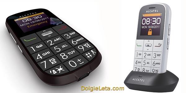 Alcatel One Ttouch 282 Телефон Алкатель с большими кнопками - фото.
