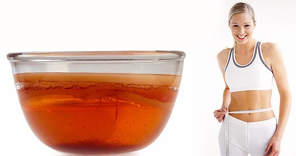 Полезные свойства чайного  гриба -  применение для похудения.