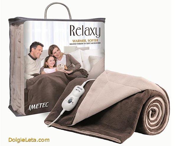Электрическое одеяло с подогревом в упаковке - фото  электроодеяла.