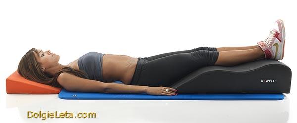 Ортопедическая подушка для релаксации ног и ступней Relax Leg K-Well KW5700S.