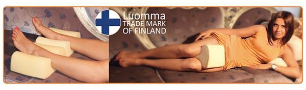 Ортопедическая подушка для ног с эффектом памяти Luomma - Lum F-507 - фото