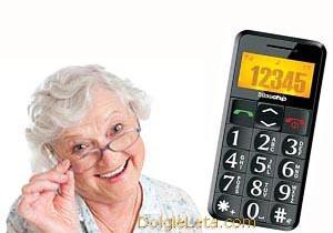 Сотовые и мобильные телефоны с большими кнопками для пожилых и слабовидящих людей