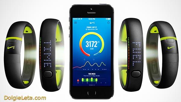 Фитнес браслет Nike+ FuelBand SE