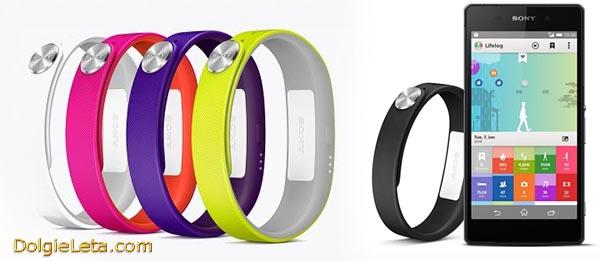 Умный спортивный фитнес браслет Sony SmartBand SWR10 - обзор, цена, фото