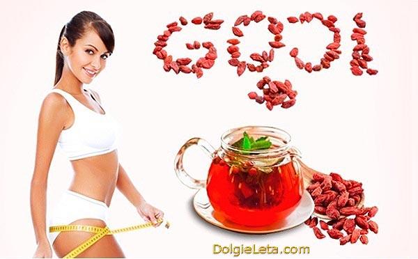 Употребление ягод дерезы обыкновенной для похудения.