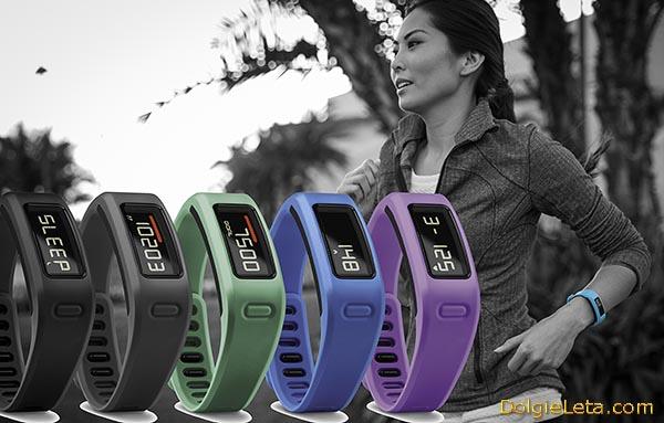 Спортивный фитнес браслет пульсометр Garmin Vivofit - фото трекера, обзор и цена