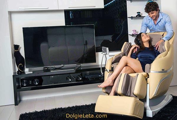 Массажное кресло для дома модель: Irest SL-A33 - показания и противопоказания к использованию.