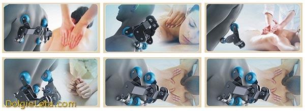 Принцип устройства и работы роликового механизма в массажном кресле