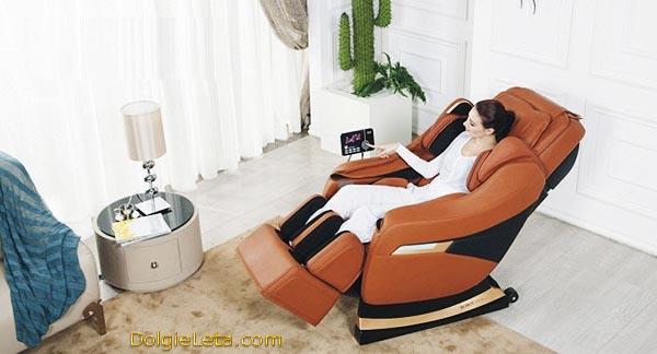 Массажное кресло в домашних условиях модель 2013 года Irest 3D SL-A60 - показания и противопоказания к применению.