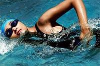 Фитнес браслет Misfit Shine для бассейнов.