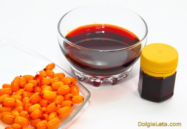 Используем облепиховое масло для лица