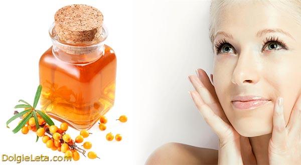 Польза облепихового масла в косметологии: для лица и волос.