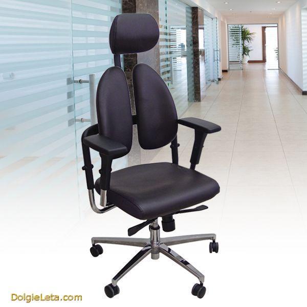 Выбираем офисные компьютерные кресла с ортопедической спинкой - фото.