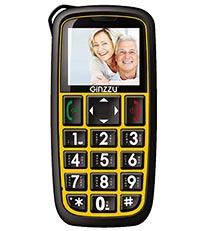 Телефон с большими кнопками для пожилых Ginzzu - бабушкофон