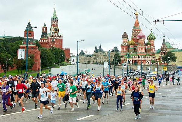 Международный московский марафон мира