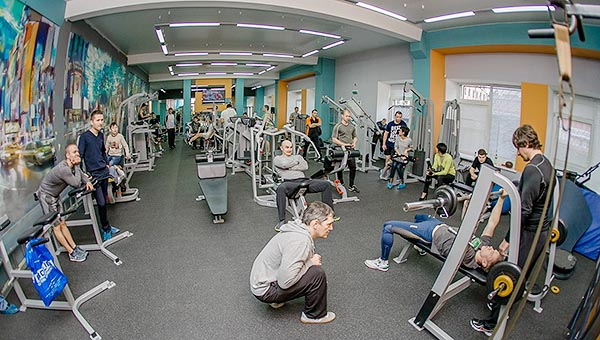 СК Волна - тренажерный зал