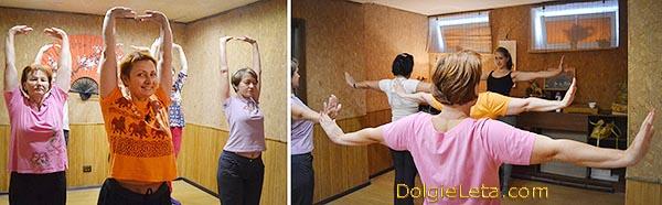 Казахская гимнастика Айкуне - восстанавливаем позвоночник,, выполняя комплекс упражнений.