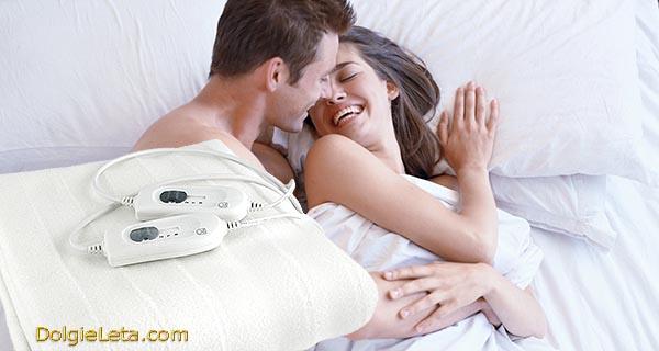 В постели с любимым - отзывы о использовании электропростыни.