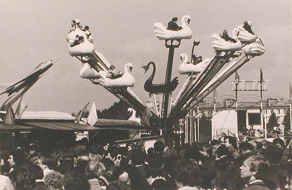 Чешский Луна-парк в парке Авиаторов - Ленинград - 1983 год.