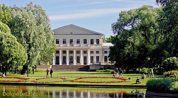 Юсуповский Дворец на Фонтанке - фото со стороны сада.
