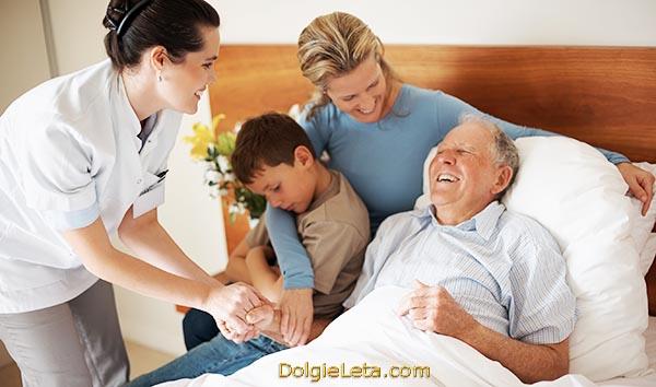 Семья отправила на лечебную профилактику дедушку в Подмосковный санаторий.