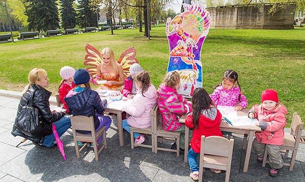 Творчество для самых маленьких в парке искусств Музеон.