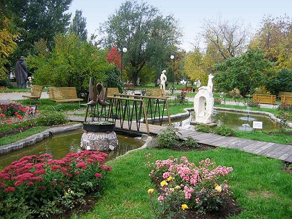 Вид в парке Музеон