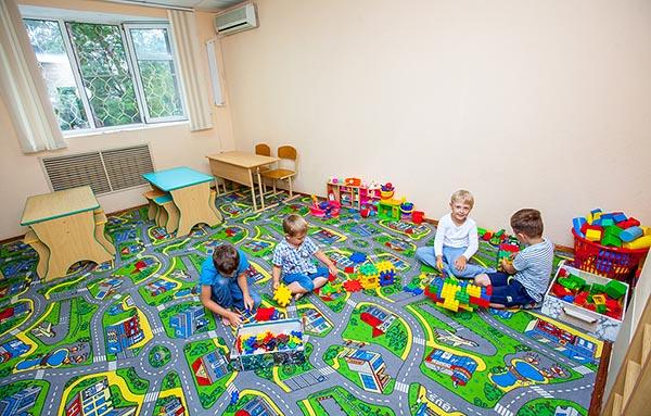 "Детская комната в санатории ""Русь"" в Анапе."