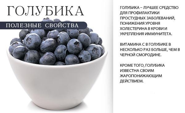 Ягода голубика: полезные свойства и противопоказания для употребления.
