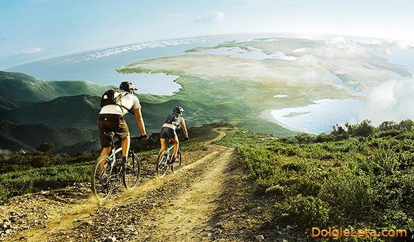 Маунтинбайк - активный отдых на горных велосипедах.