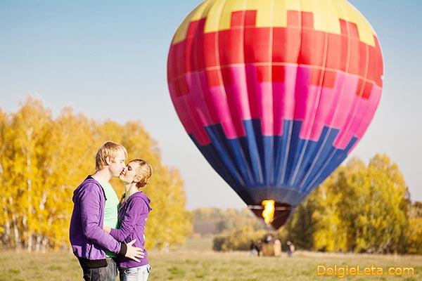 Полет на воздушном шаре.