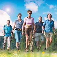 Nordic Walking - Скандинавская ходьба с палками.