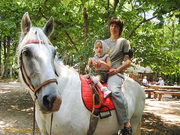 Иппотерапия - лечение на лошадях детей и взрослых.