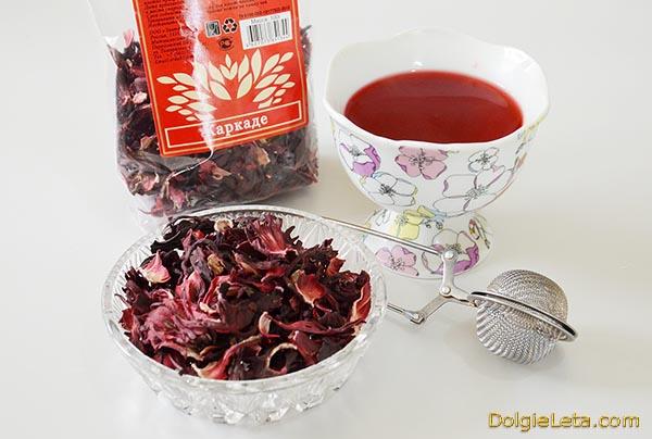 Как правильно заваривать чай Каркаде.