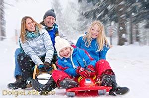 Как правильно выбрать зимние санки для детей и взрослых.